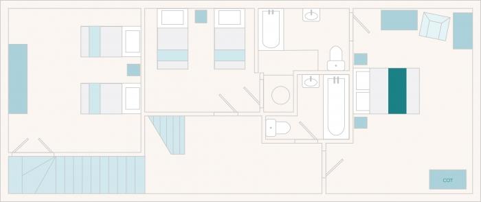 Edgecombe Barn First Floor Plan