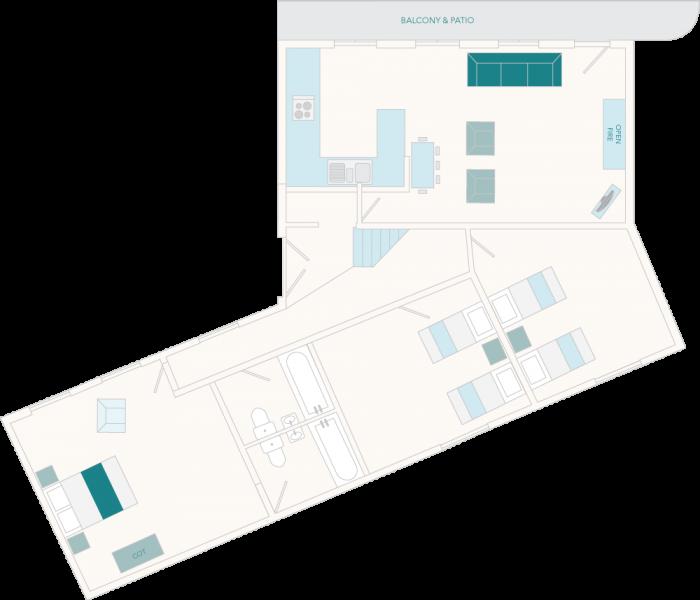 1 Salle Cottage Ground Floor Plan