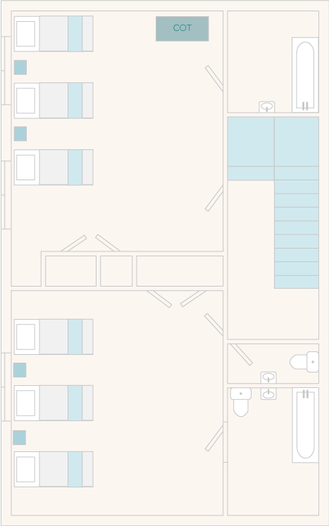 Papermaker's Cottage First Floor Plan