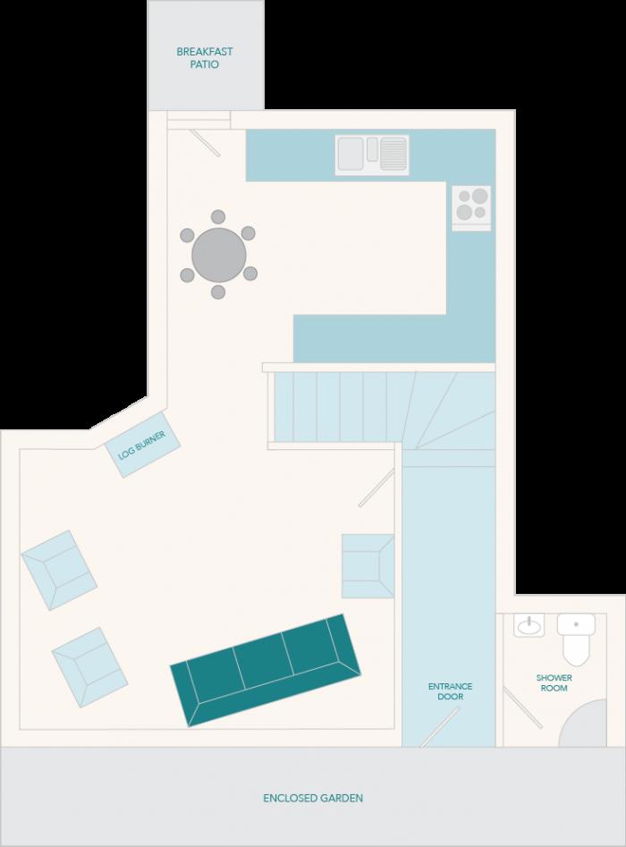 Milbourne Cottage Ground Floor Plan