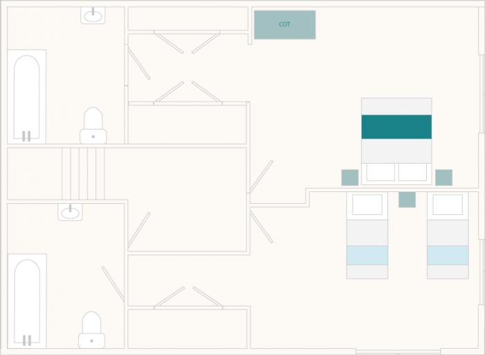 Vat House First Floor Plan