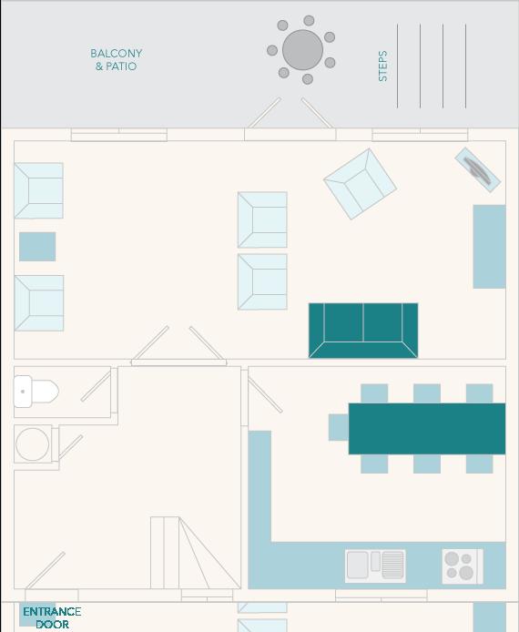 3 Salle Cottage Ground Floor Plan
