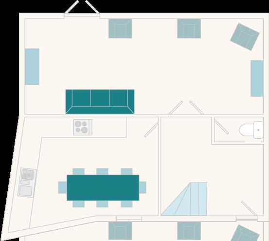 2 Salle Cottage First Floor Plan