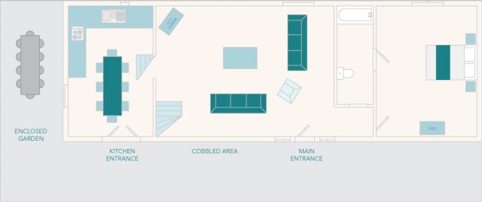 Edgecombe Barn Ground Floor Plan
