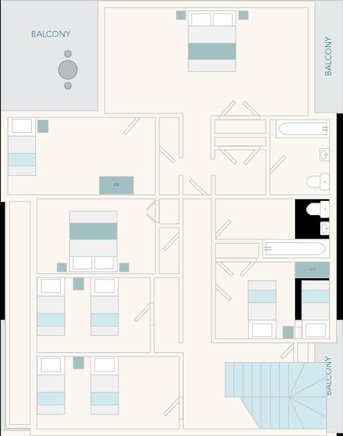 Tuckenhay Mill House First Floor Plan