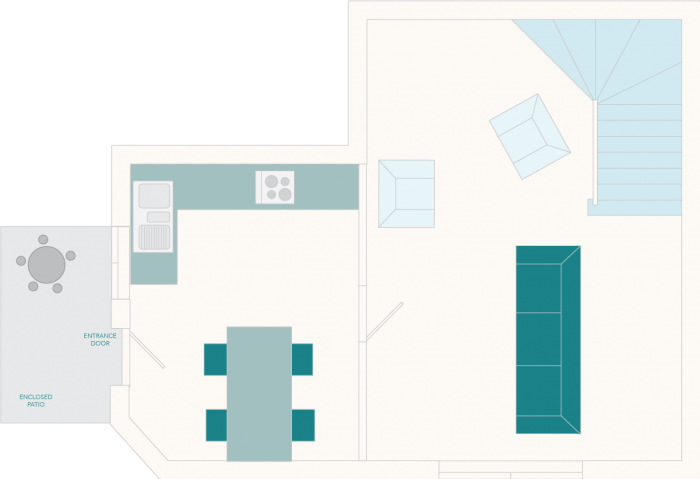 1 Castle Cottage Ground Floor Plan