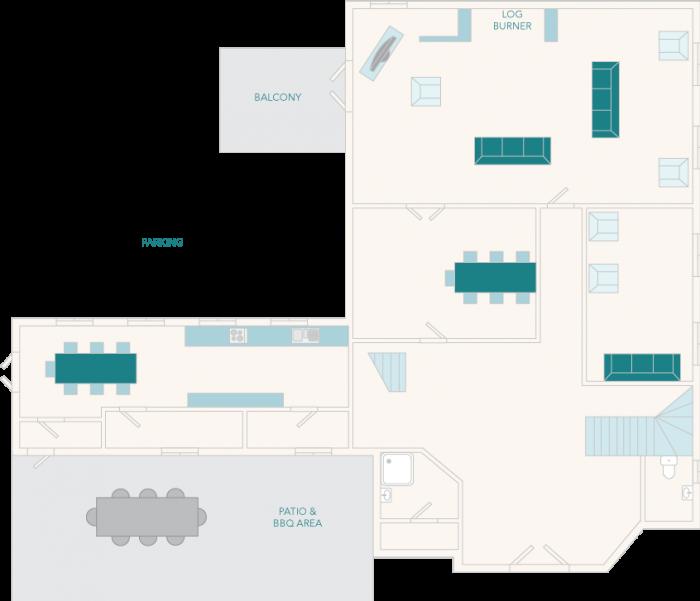 Tuckenhay Mill House Ground Floor Plan