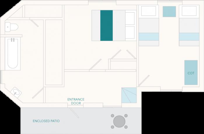 4 Castle Cottage Ground Floor Plan