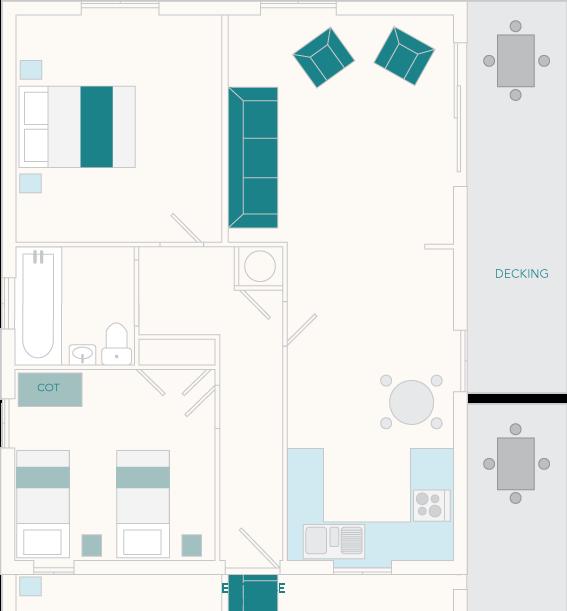 Miller's Thumb Ground Floor Plan
