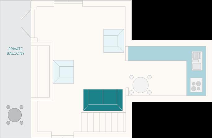 4 Castle Cottage First Floor Plan