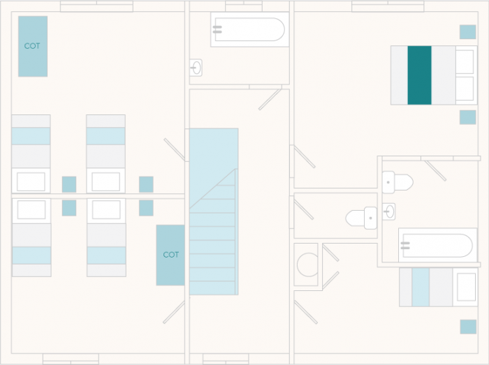 Mill Lodge First Floor Plan