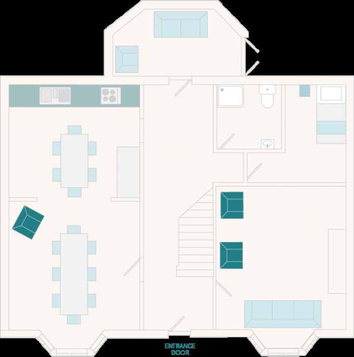 Mill Lodge Ground Floor Plan